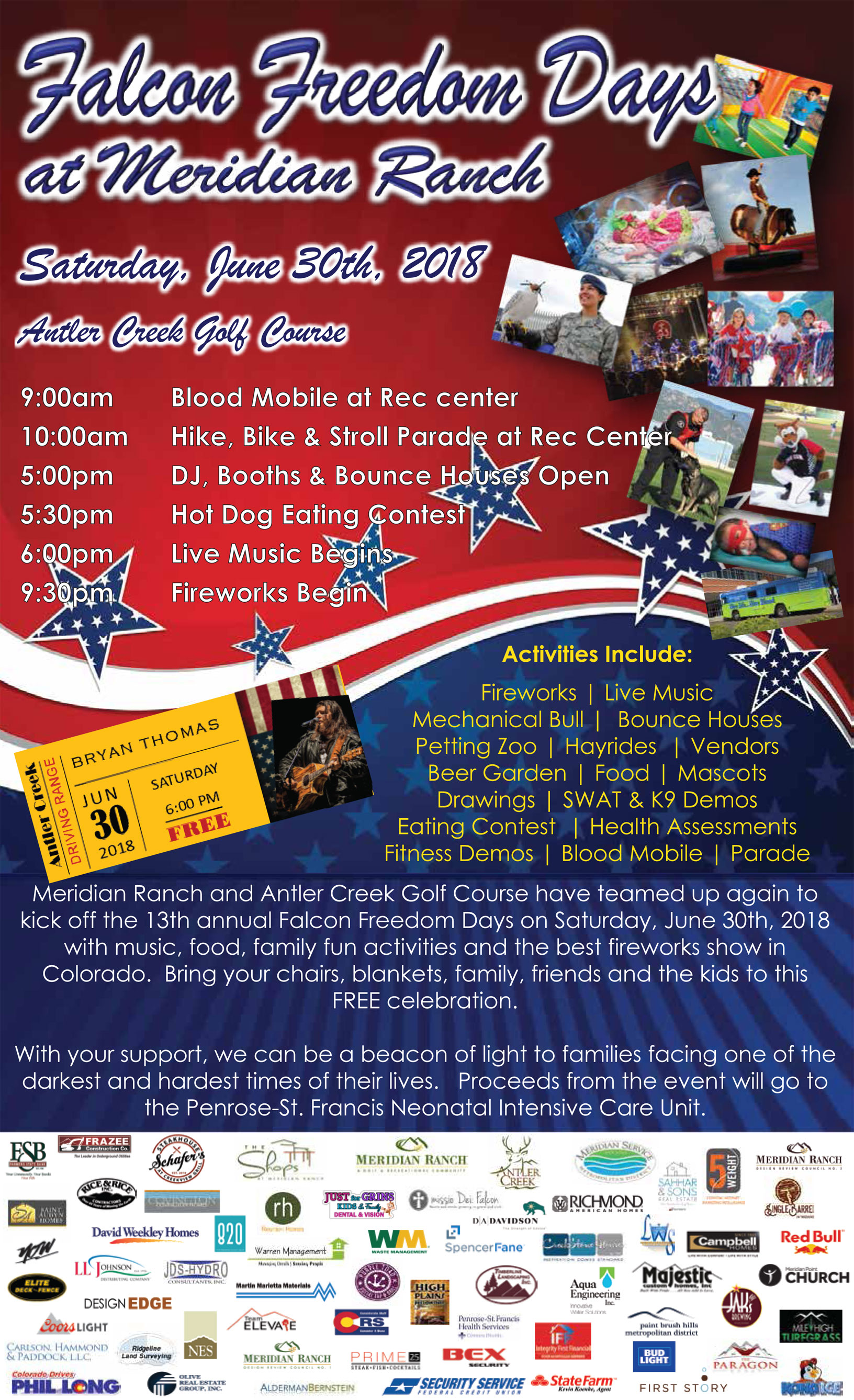 Falcon Freedom Days Flyer