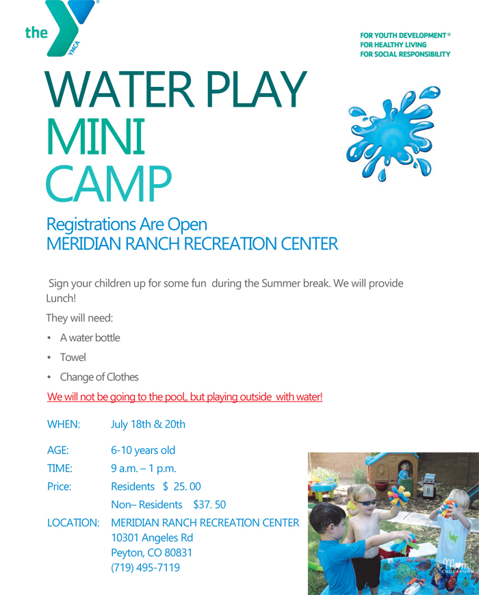 Water Play Camp