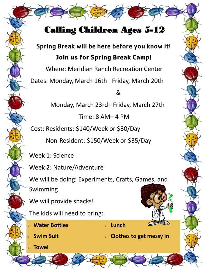 Spring Break Child Care