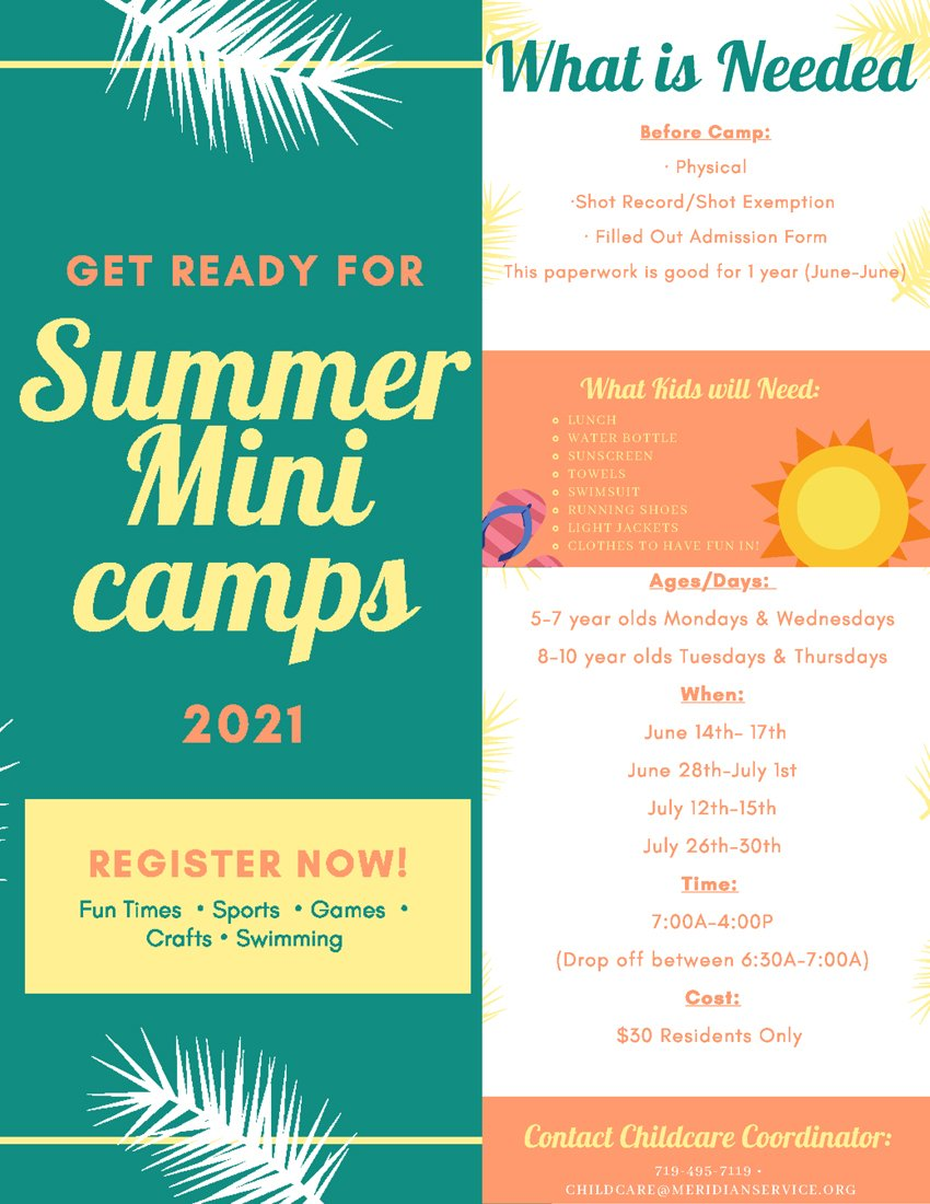 Summer Mini Camps For Website